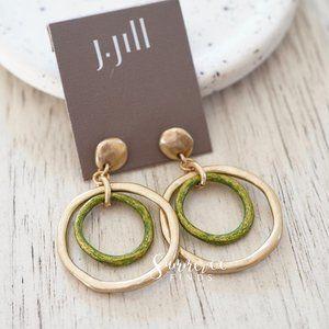 J. Jill Double Hoop Drop Earrings